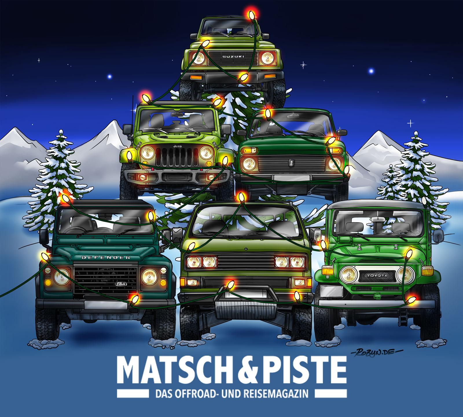 Offroad-Weihnacht
