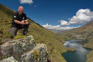 Über der Lagune Purhuay in der Cordillera Blanca, Peru, Interview Christian Weinberger
