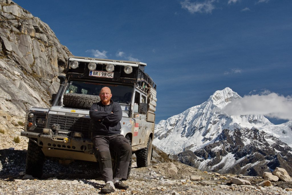 Cordillera Blanca, Peru, Interview Christian Weinberger