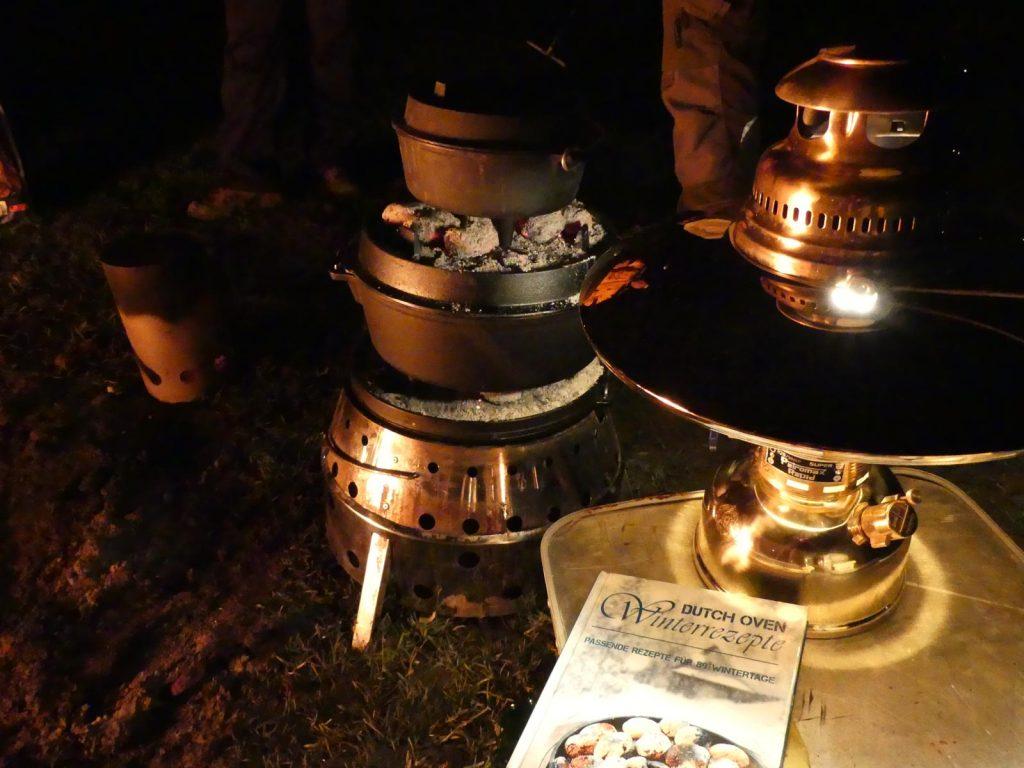 Unser Silvester-Menü: Rindergulasch Burgunder Art, Kartoffel-Gratin und Äppelcobbler