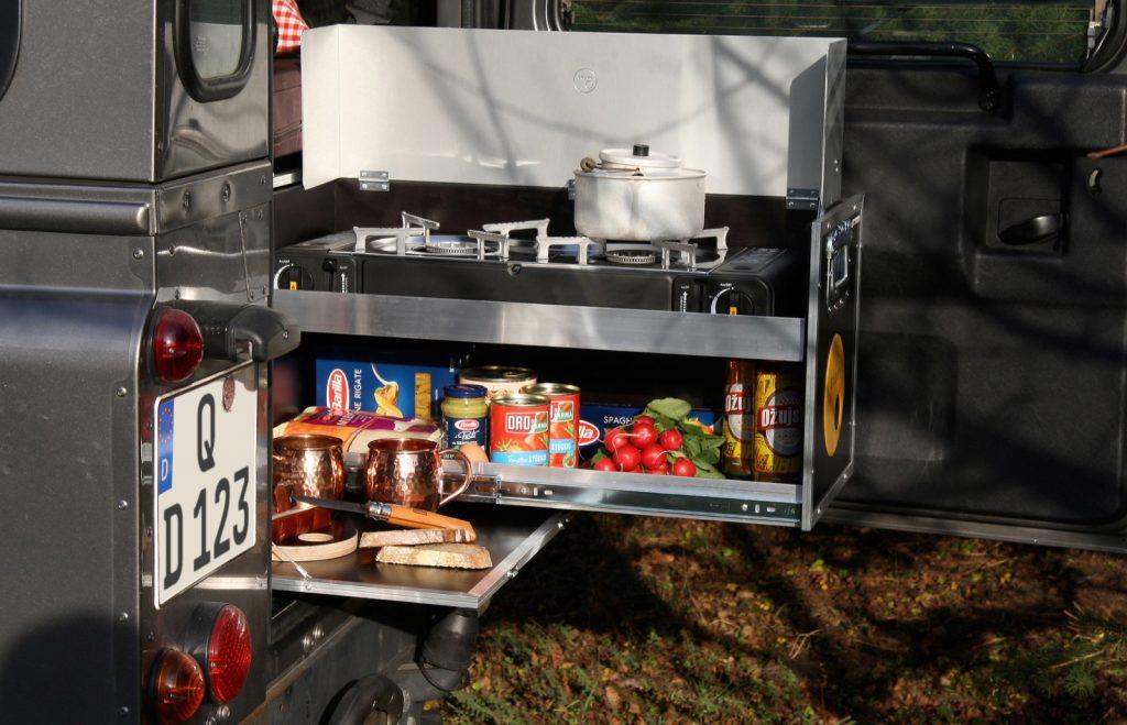 QUQUQ-Campingbox für den Defender