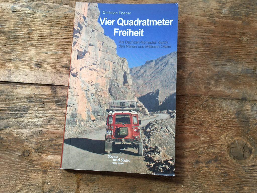 Buchvorstellung: Vier Quadratmeter Freiheit von Christian Ebener
