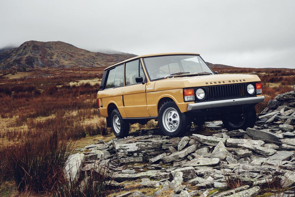 Range Rover Classic Reborn, 3-türer © Jaguar Land Rover