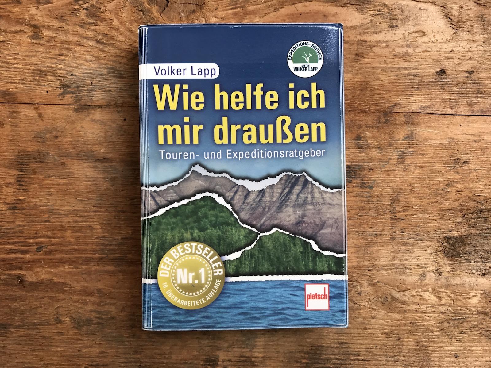Buch: Volker Lapp, Wie helfe ich mir draußen