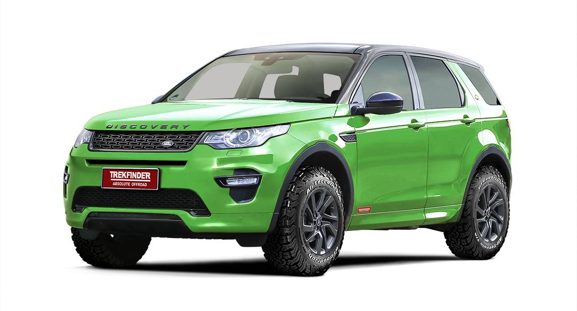 Trekfinder-Höherlegungssätze für Land Rover Discovery Sport und Landcruiser J12