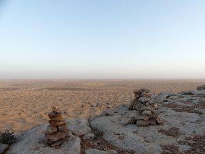 Auf dem heiligen Berg, Tunesien Tembaine Sahara Extrem
