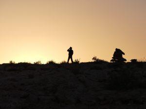 Endlich wieder Handy-Empfang Tunesien Sahara Extrem