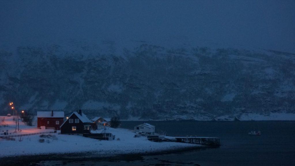 Smørfjord am Nordkap