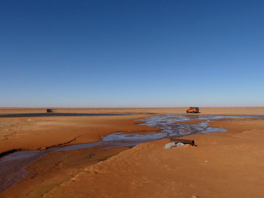 Nicht der richtige See, Tunesien Sahara Extrem