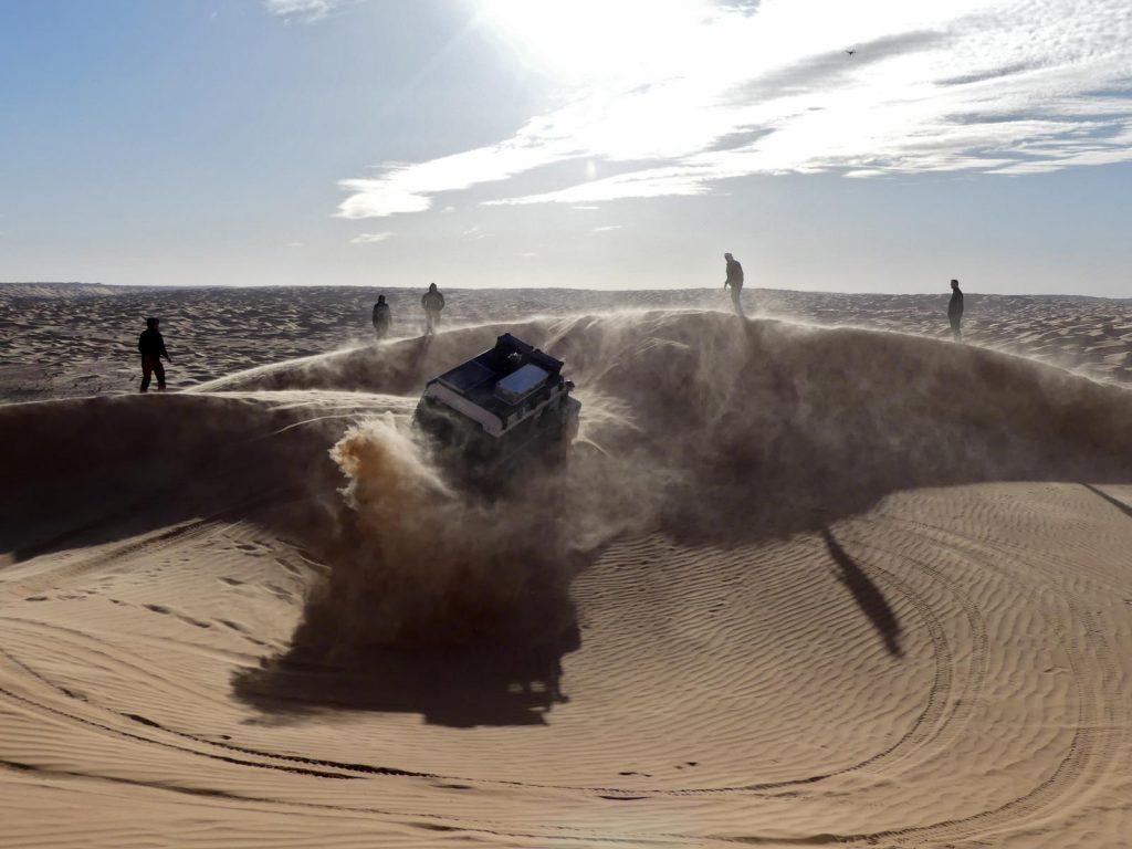 Puh, das wäre beinahe schief gegangen, Tunesien Sahara Extrem