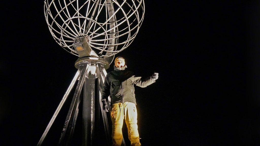 Ziel erreicht: Silvester am Nordkap