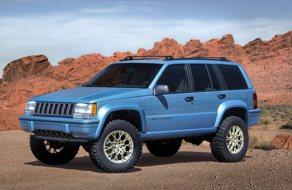 Jeep Grand One Konzept - Grand Cherokee von 1993.