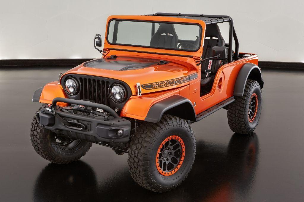 Jeep CJ66 Konzept