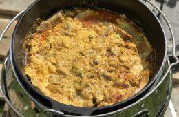 Rezept: Dutch Oven Schnitzelpfanne