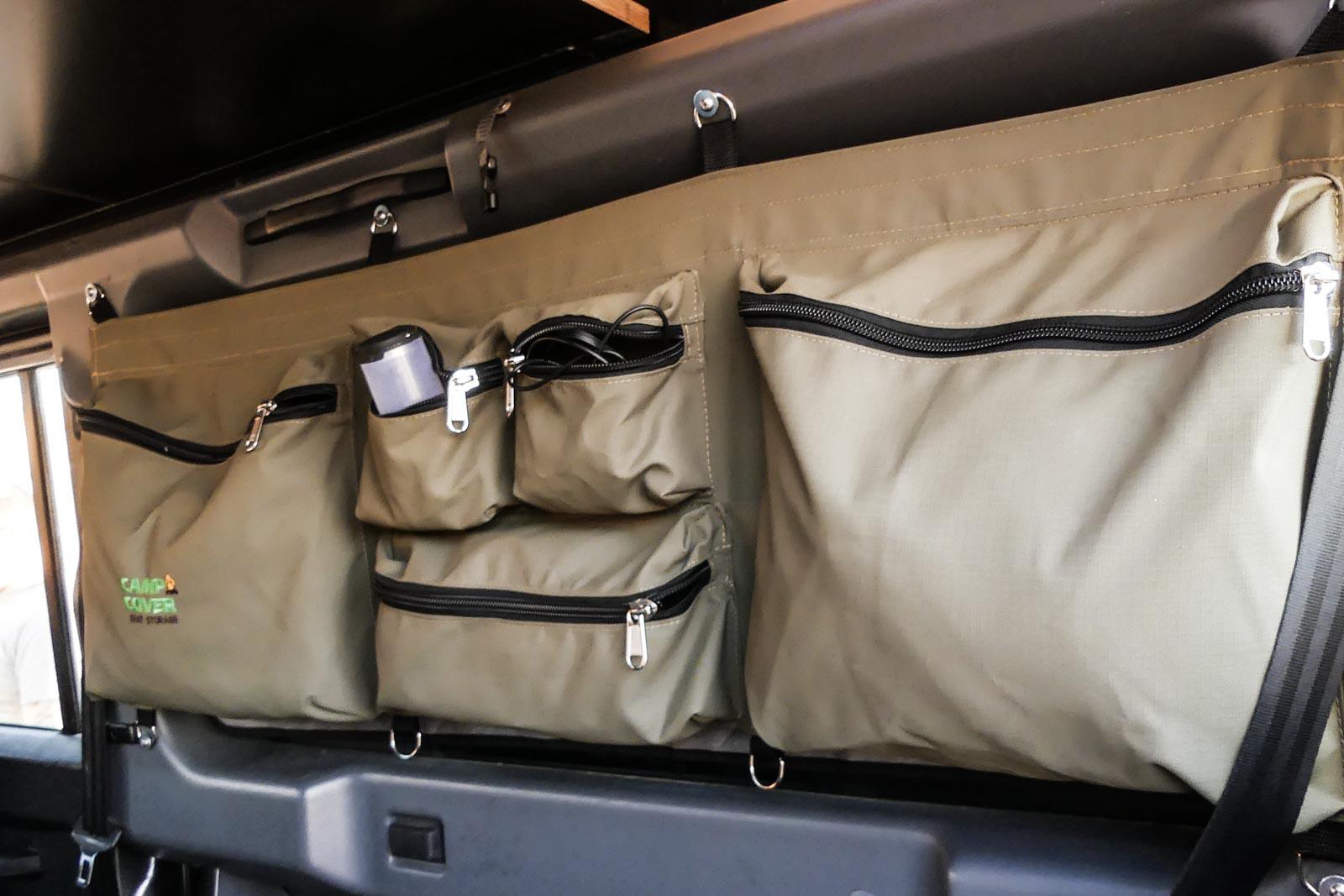 produktvorstellung camp cover stausystem im defender 110. Black Bedroom Furniture Sets. Home Design Ideas