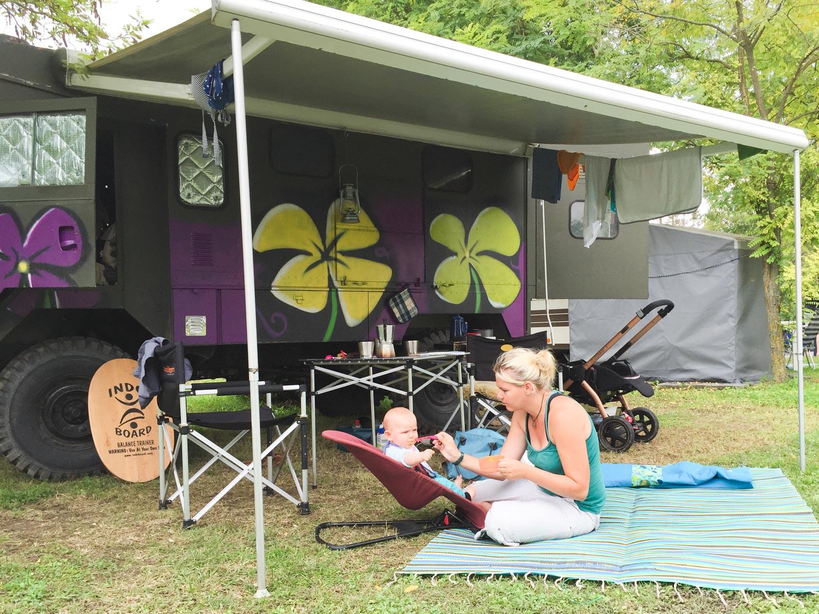 Outdoorküche Camping Ungaran : Hochzeitsreise zu dritt: mit dem baby durch europa matsch&piste