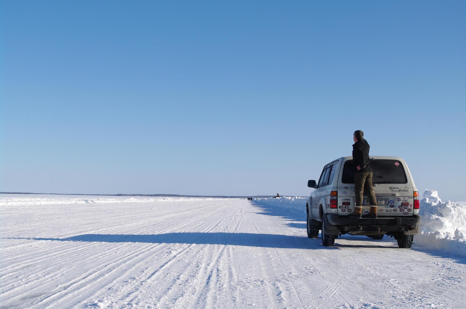 Im Winter nach Murmansk.