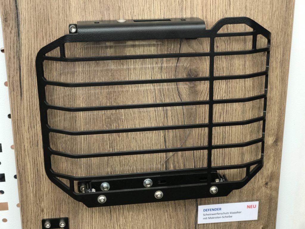 GMB-Mount / Klappbares Lampenschutzgitter mit Makrolonscheibe