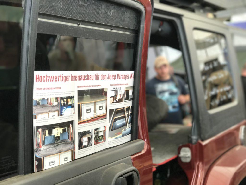 Red Rock Adventures - Jeep Innenausbau