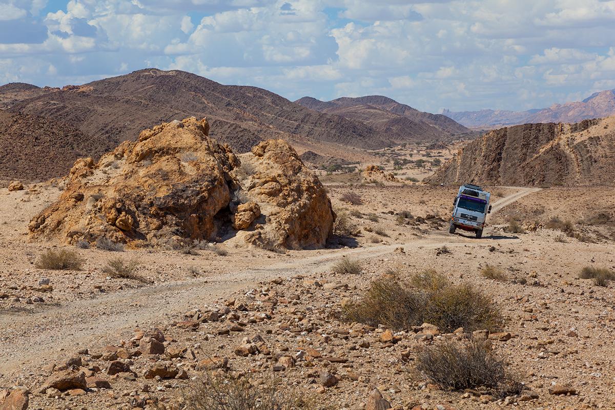 Spannende Pisten in der Namib Naukluft, Foto: Constanze Kühnel, Mantoco