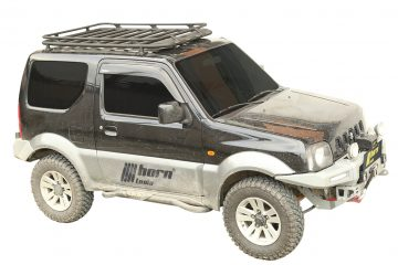 horntools Dachgepäckträger für den Suzuki Jimny. © Foto: horntools GmbH