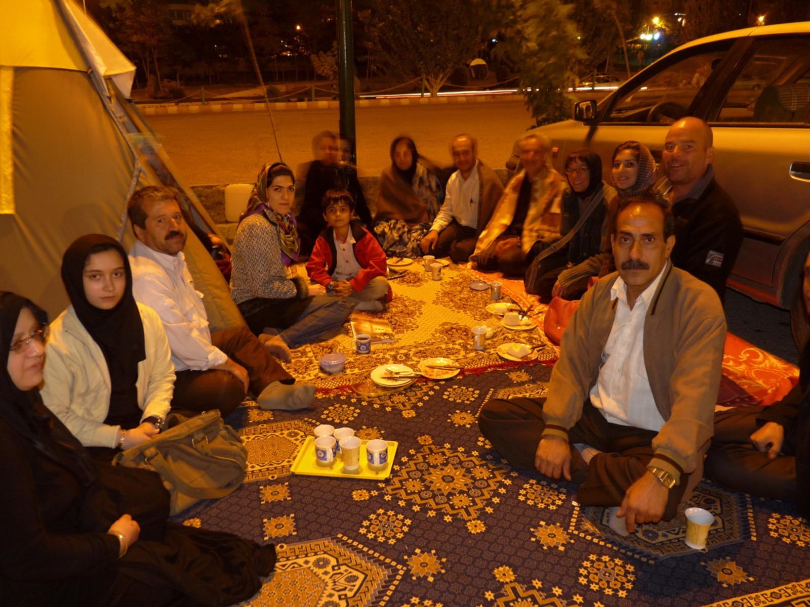 Gastfreundschaft im Iran