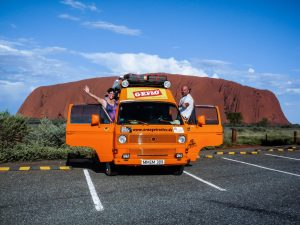 Der Orangetrotter in Australien