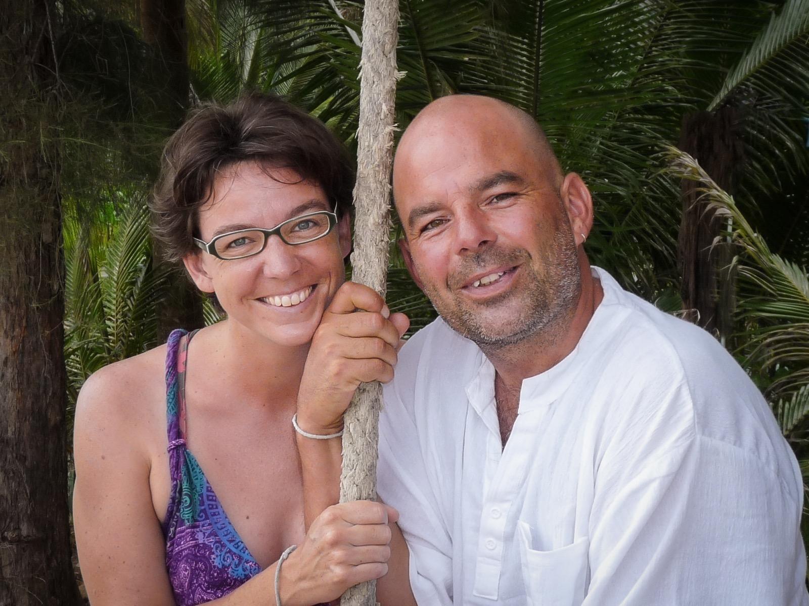Helga Negele und Jürgen Dommer