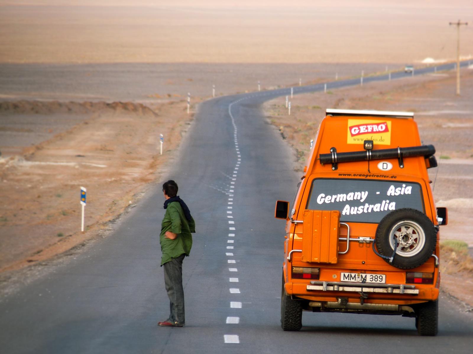 Der Blick nach vorn Kasan, Iran