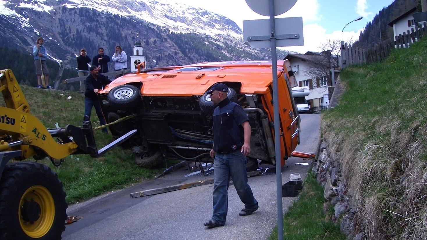 Der Unfall vor der Abreise