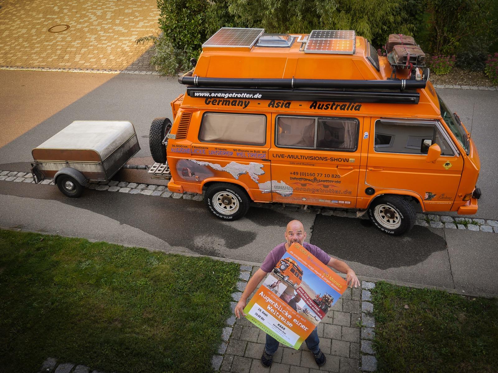 Der Orangetrotter on Tour - Augenblicke einer Weltreise