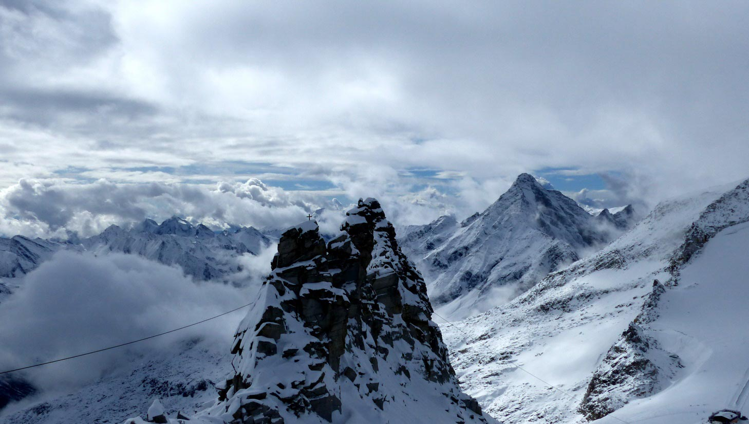 Tuxertal im Herbst Tuxer-Gletscher