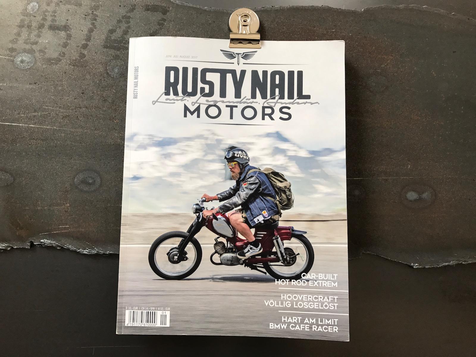 Rusty Nail Motors - Laut.Legendär.Anders.