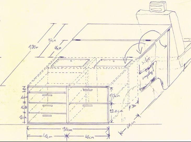 Innenausbau für den Mitsubishi Shogun