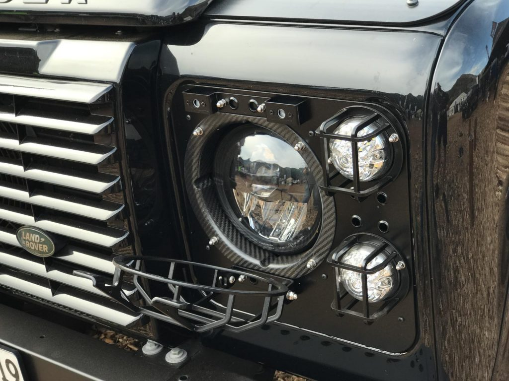 Rough Parts - abklappbarer Lampenschutz.