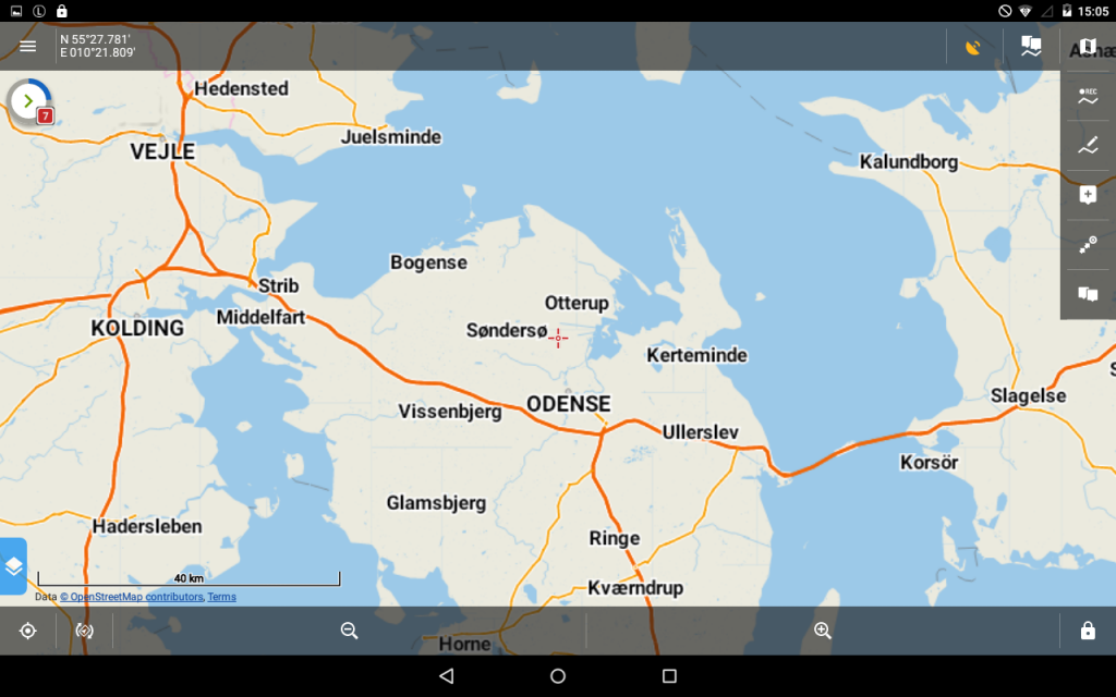 Locus Map Pro 3.25 - LoMap in Deutsch.
