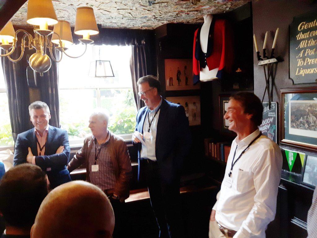 Dirk Heilmann, Chris Tane, Tom Crotty und Jim Ratcliffe.