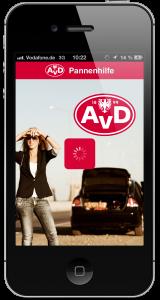 Hilferuf, Bußgeldrechner und punktgenaue Pannenhilf - die AvD Smartphone-App Fahrspaß + Sicherheit: AvD Automobilclub von Deutschland