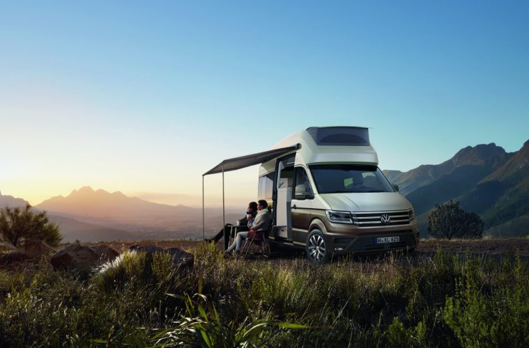 VW California XXL auf Crafter Basis