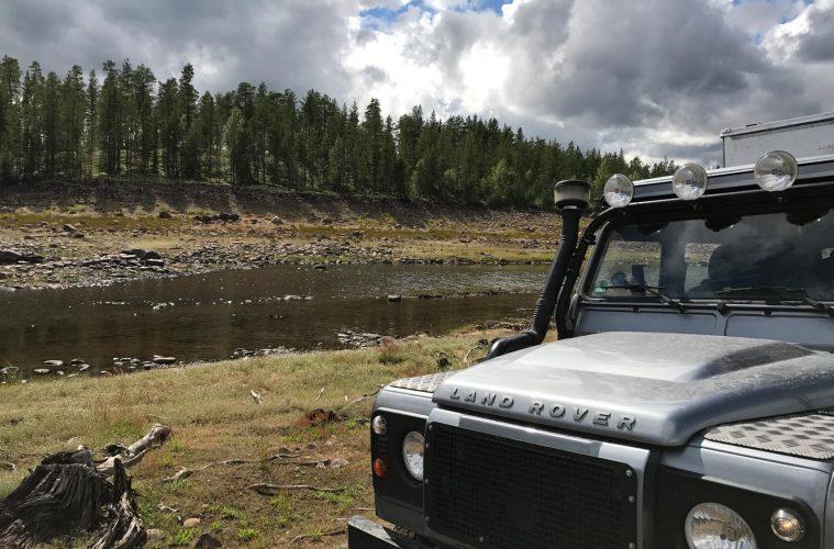 Offroad fahren in Schweden