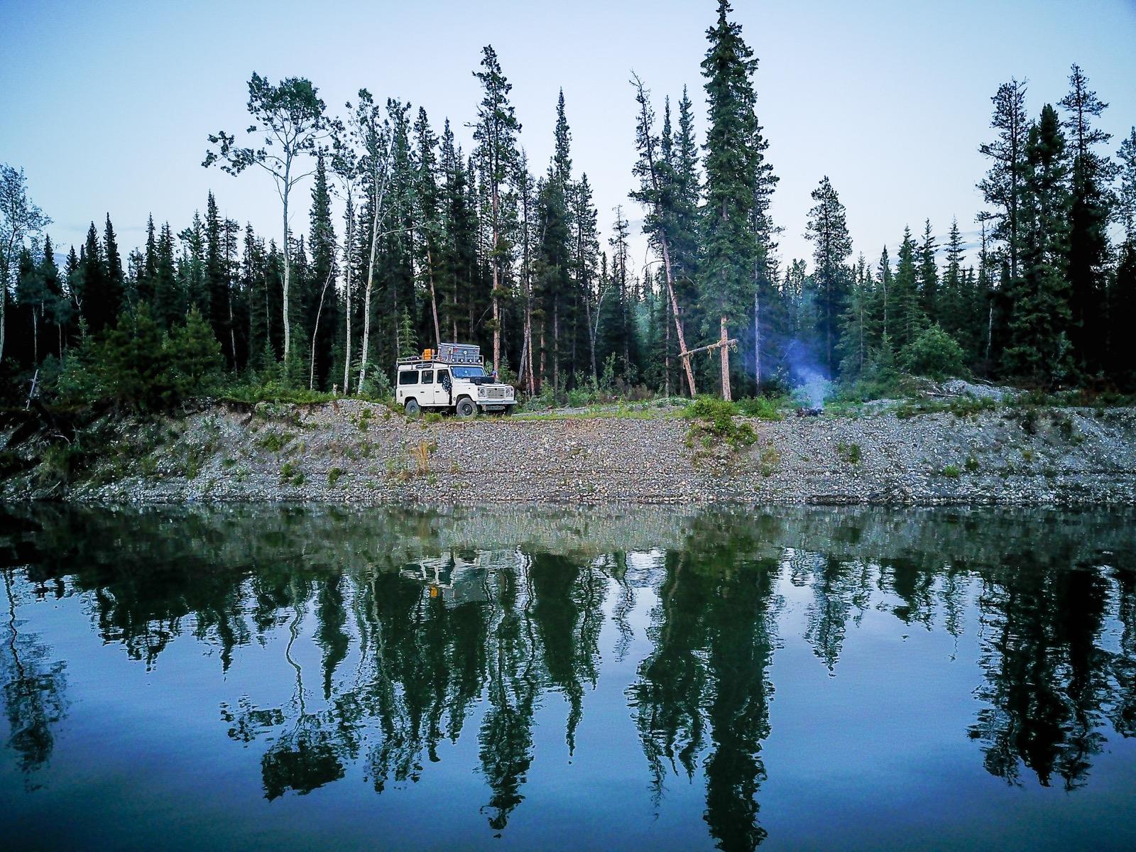 TheSunnyside auf dem Alaska Highway