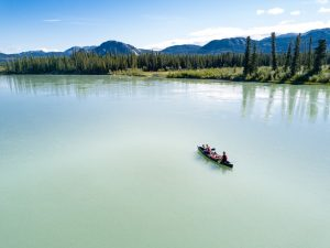 TheSunnyside auf dem Yukon River