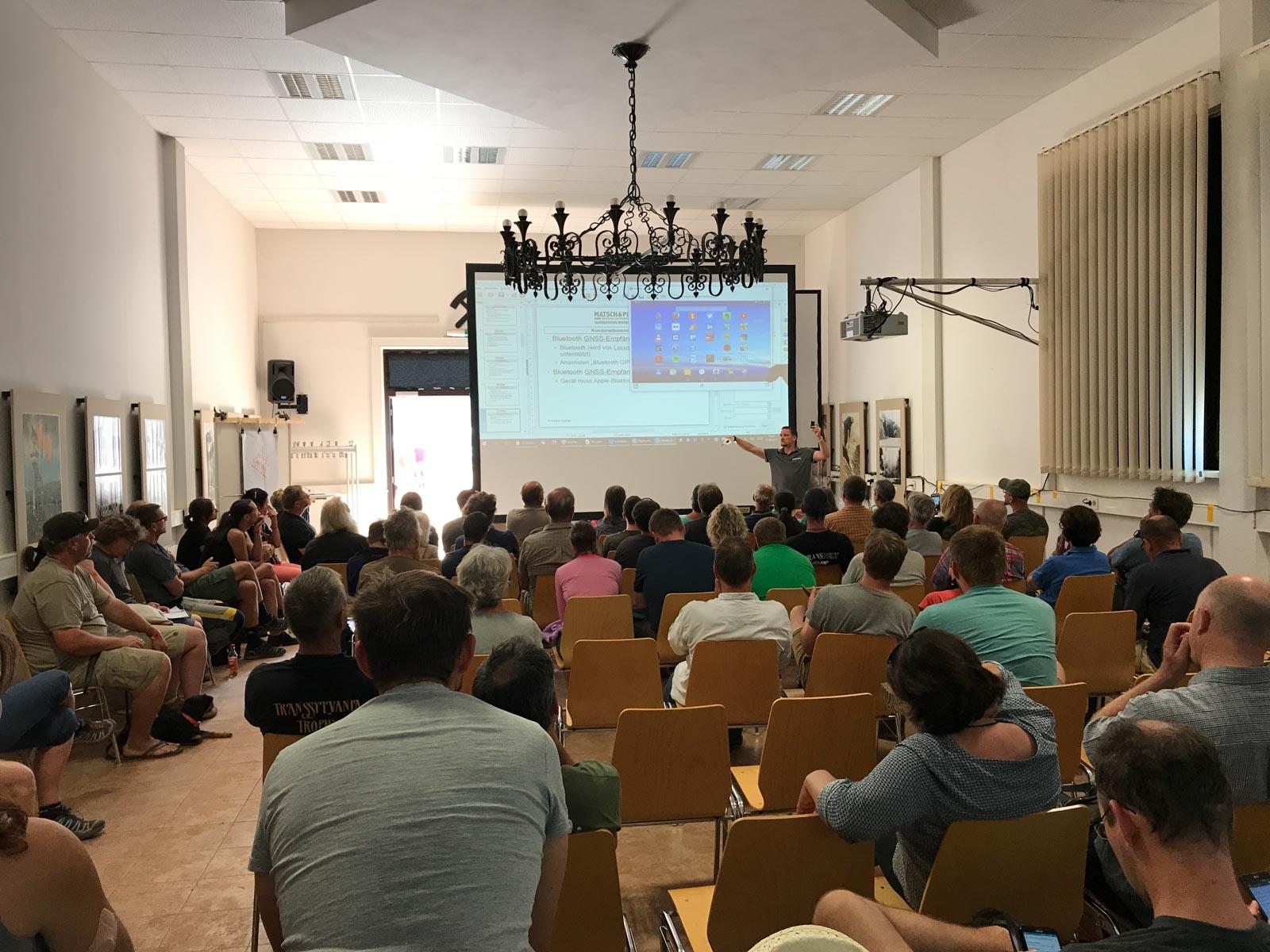 Unser Workshop zum Thema Offroad-Navigation mit Tablets
