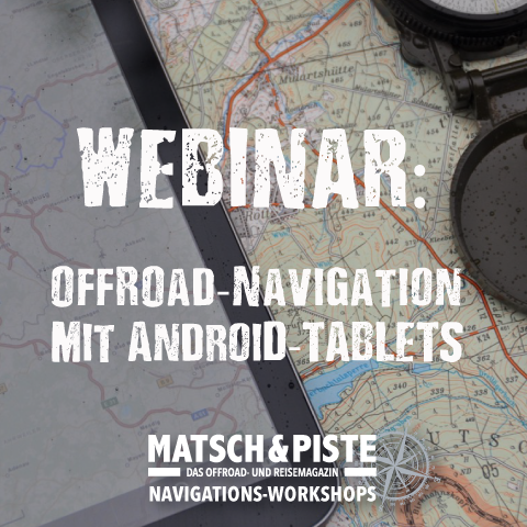 Webinar Offroad-Navigation mit Tablets für Android