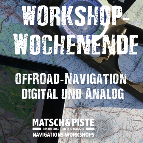 Wochenend-Workshop Offroad-Navigation