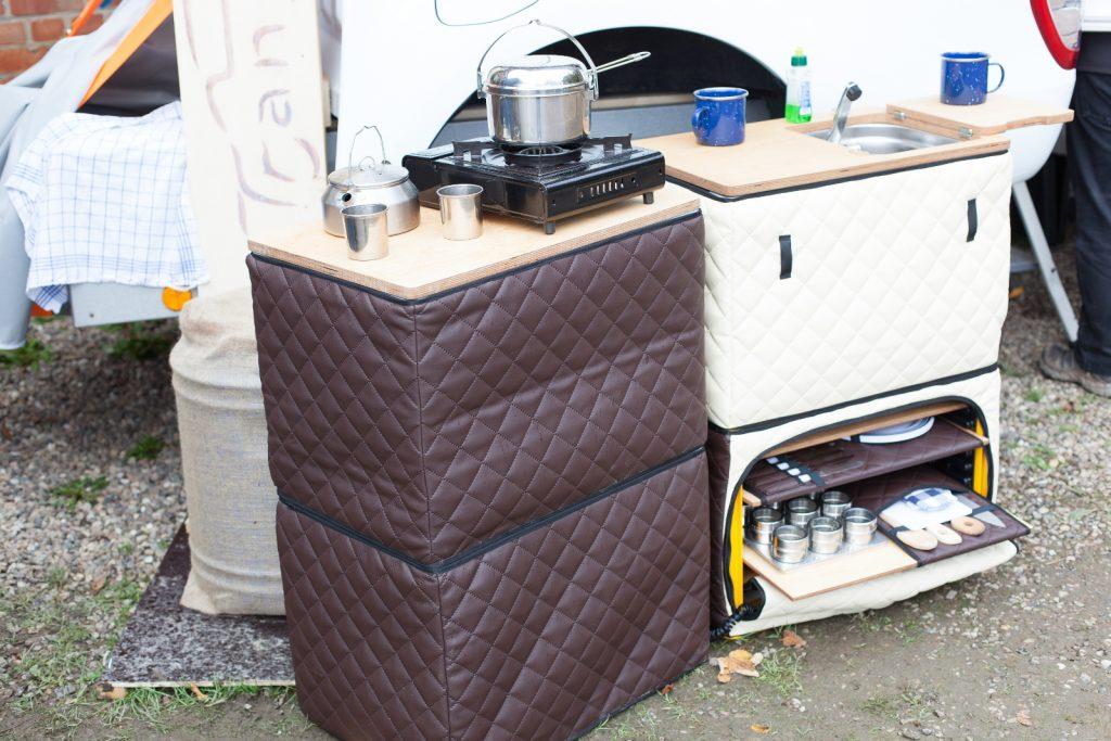TransMantica culina - Mobile Campingküche.