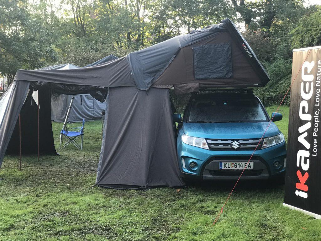 Adventure Northside 2017 - Komplettes Setup mit Vorzelt.