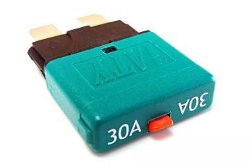 Tigerexped - Automatiksicherung mit Resetschalter 30 Ampere.