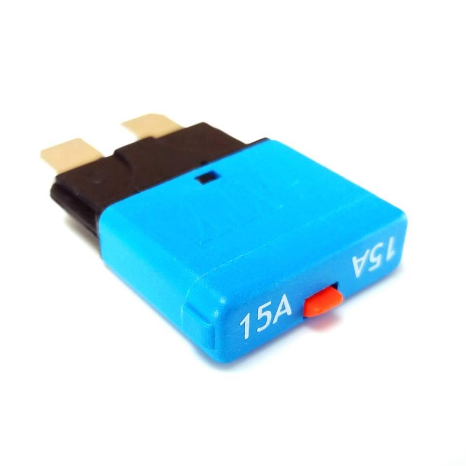 Tigerexped - Automatiksicherung mit Resetschalter 15 Ampere.