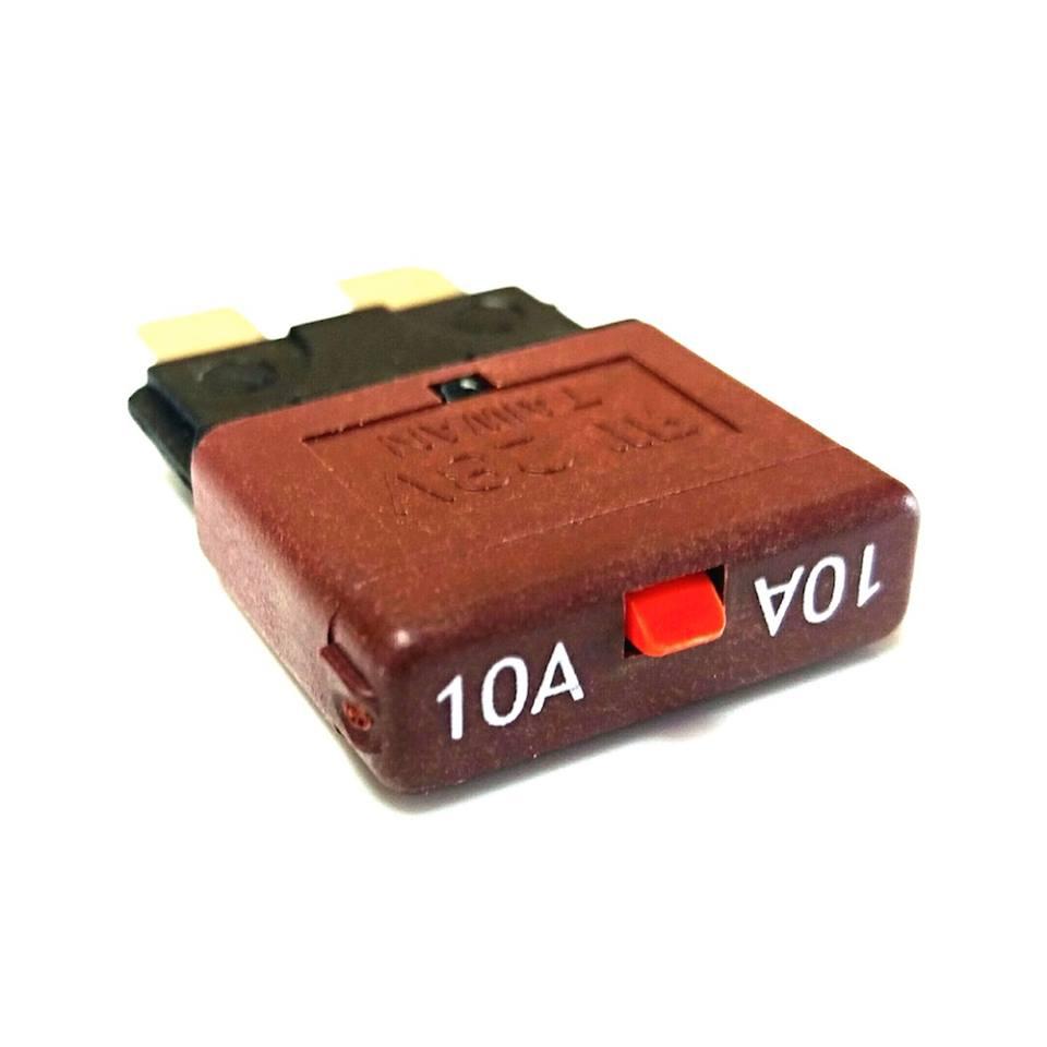Tigerexped - Automatiksicherung mit Resetschalter 10 Ampere.